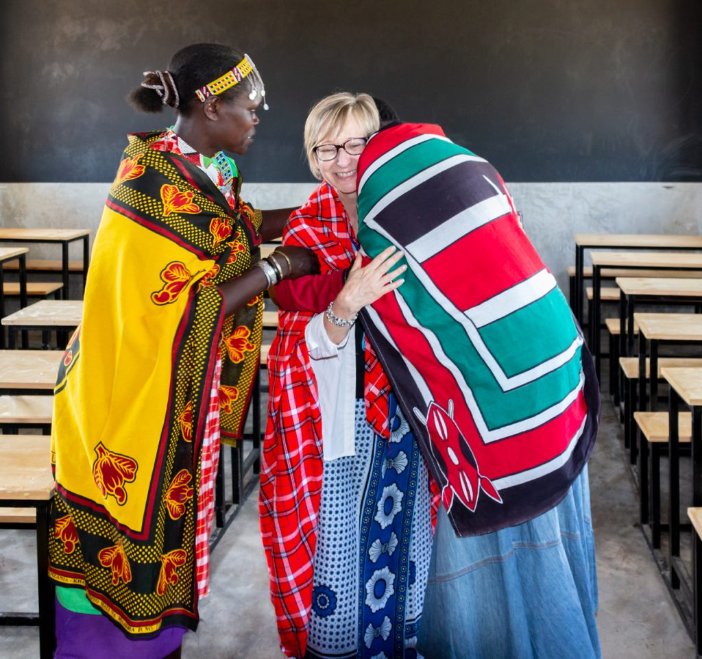 Heather Skoll in Kenya, We Can Change the World Day, We Charity