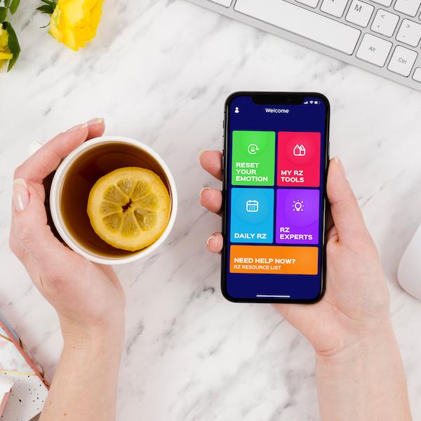 Reset Zone Emotional Wellness App